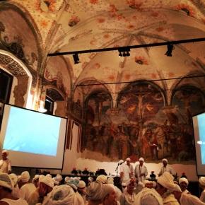 White Tantric Yoga Milan 2014. Tantra Yoga Bianco Milano2014.