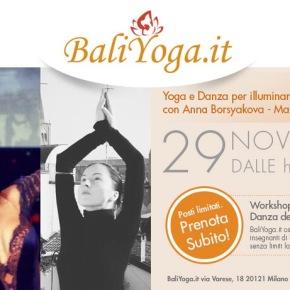 Seminario di Yoga&Danza a Milano29/11/2015